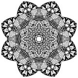 Mandala floral element Stock Photography