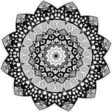 Mandala floral element Stock Images