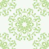 Mandala floral Elementos decorativos étnicos Fotos de Stock Royalty Free