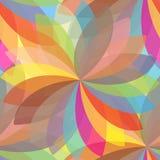 Mandala floral Elementos decorativos étnicos Backgroun desenhado à mão Foto de Stock