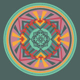 Mandala floral. illustration Photo stock
