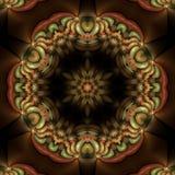 Mandala floral plástica Fotos de archivo