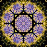 Mandala floral retra libre illustration