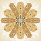 Mandala. Floral round floral ornament, mandala Royalty Free Illustration