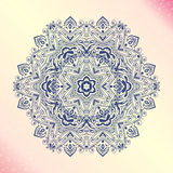 Mandala. Floral vintage round amulet tattoo Royalty Free Stock Photo