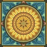 Mandala floreale Fotografie Stock Libere da Diritti
