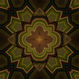 Mandala floreale lenitiva Fotografia Stock Libera da Diritti
