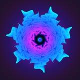 Mandala Flower, geometría sagrada Imagen de archivo