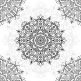 Mandala flower illustration for multiple purpose stock photo