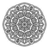 Mandala flower illustration vector. Design stock photo