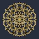 Mandala flower illustration vector royalty free stock photo