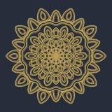 Mandala flower illustration vector royalty free stock images