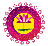 Mandala Flower Royalty Free Stock Photo