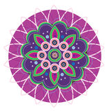 Mandala Flower Royalty Free Stock Photo
