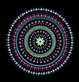 Mandala Flower Stock Image