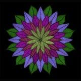 Mandala Flower in tonalità Immagini Stock Libere da Diritti