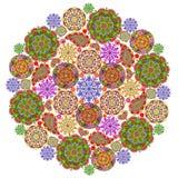 Mandala från mandalas vektor illustrationer
