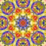 Mandala fractal Zdjęcie Royalty Free