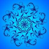 Mandala or fractal abstract background, vector illustration. Mandala or fractal abstract background, vector illustration Stock Illustration