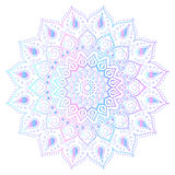 Mandala - freehand drawing. Vector illustration. Gradient. Bright Stock Images