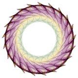 Mandala fumosa Fotografie Stock