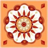 Mandala geométrica Imagens de Stock