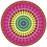 Mandala geométrica fotografia de stock