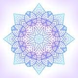 Mandala geométrica linear Fotografía de archivo libre de regalías