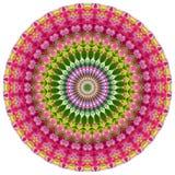 Mandala geometrica illustrazione di stock
