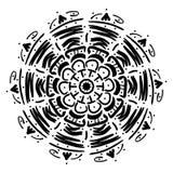 Mandala geometryczny ornament royalty ilustracja