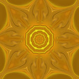 Mandala gold background Stock Images