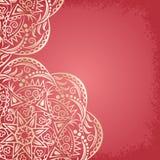 Mandala gold, background royalty free illustration