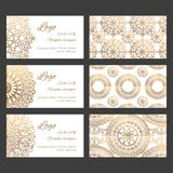 Oriental business cards design templates vector collection stock photos