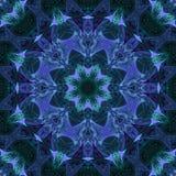 Mandala grafische symmetrie, helder textuur uniek mozaïek, oosters decor vector illustratie