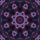 Mandala grafische symmetrie, het unieke mozaïek van de patroontextuur, oosters decor vector illustratie