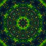 Mandala grafische symmetrie, mozaïek van de behang het heldere textuur, oosters decor royalty-vrije illustratie