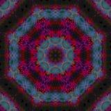 Mandala grafische symmetrie, mozaïek van het textuur het unieke saldo, oosters decor vector illustratie