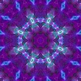 Mandala grafische symmetrie, textuur uniek mozaïek, oosters decor vector illustratie
