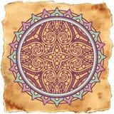 Mandala grunge Stock Image