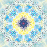 Mandala Happiness Lizenzfreies Stockbild