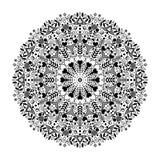 Mandala with hearts. Stock Photography