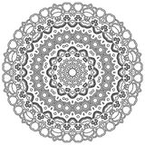 Mandala with Hearts. Ornamental round mandala. Geometric circle element made in . Perfect for any other kind of design, birthday and other holiday, kaleidoscope Royalty Free Stock Photos