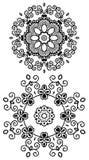 Mandala Henna Fotografía de archivo