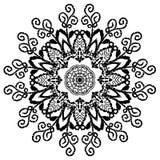 Mandala henna Obraz Royalty Free