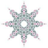 Mandala henna ilustracja wektor