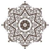 Mandala Henna Fotos de archivo