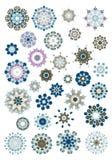 Mandala henna design fashion Stock Image
