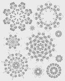 Mandala henna design fashion Stock Images