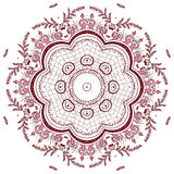 Mandala henna design fashion Royalty Free Stock Photography