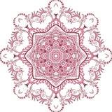 Mandala henny projekta moda Obraz Royalty Free